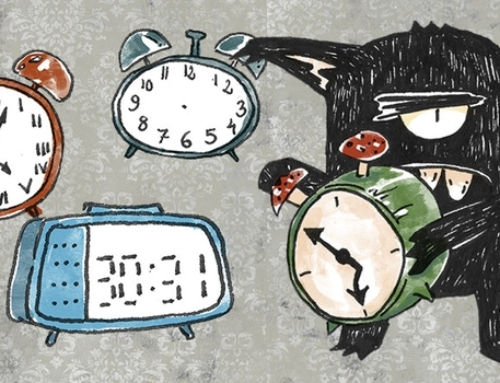 Monster #13: The Alarm Clock Monster
